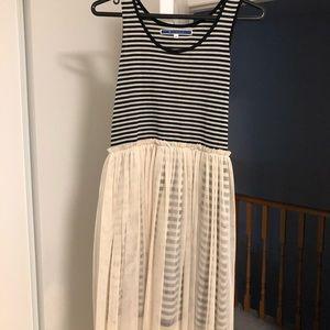 Cotton tulle summer dress NWOT